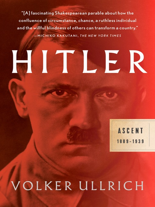 Title details for Hitler by Volker Ullrich - Available